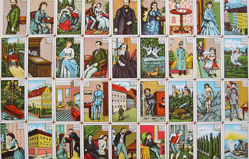 Kartenlegen mit den Kipperkarten
