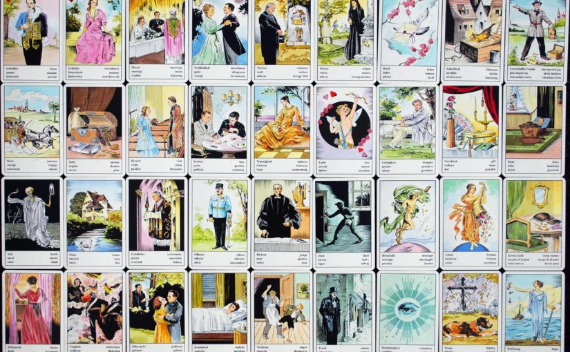 Kartenlegen mit den Zigeunerkarten